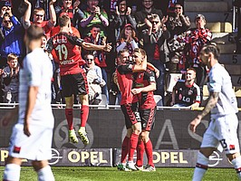 2017: Mit Schwung in Liga 1: Eine super Spielzeit endet auf Rang 7. (Foto: Achim Keller)
