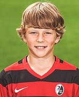Eine Zeitreise beim SC: Yannik Keitel mit elf Jahren... (Foto: Patrick Seeger)