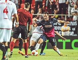 2013: Auf nach Europa! Nach Platz 5 in der Vorsaison geht es in die Europa League. Die Gegner: Sevilla, Liberec und Estoril. (Foto: Michael Heuberger)