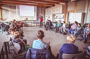 SC macht Schule (Foto: Keller).